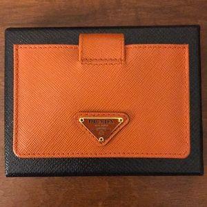 Prada Saffiano Card Holder 50% Off Original Price
